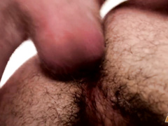 Gay mouth and ass are with cock deeply inside