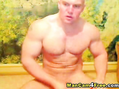 Amazingly strong guy is exciting from online gay porn
