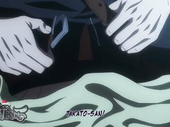 Hentai fag Dakaretai Otoko pleases his fucker with blowjob before getting pounded