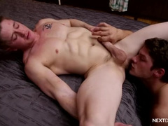 Straight Hunk BB Fucked by Bridger Watts